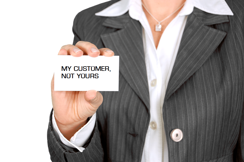 Customer lists are part of a business' strongest assets. Expect them to be guarded as such.