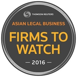 "Donovan & Ho was named as one of Asian Legal Business' ""Firms to Watch 2016""."