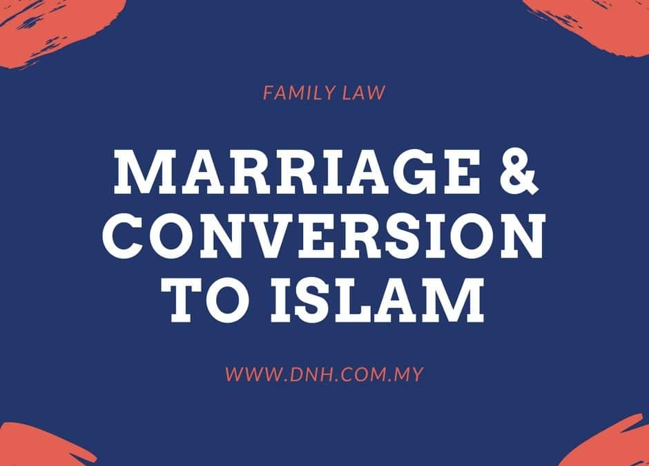 Marriage and Conversion to Islam