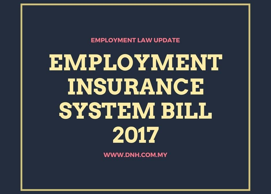 Update: Employment Insurance Bill Tabled