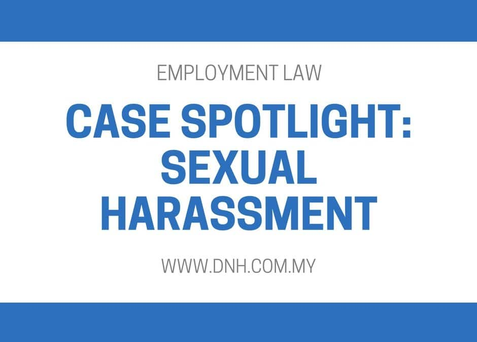 Case Spotlight: Sexual Harassment by Female Employee