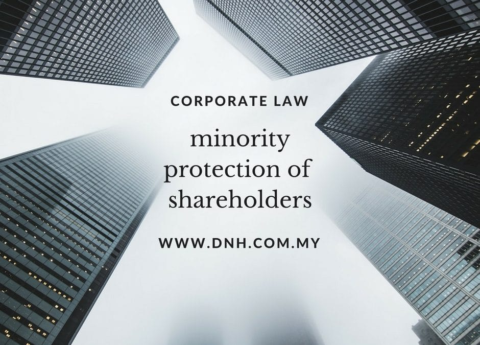 Minority Protection of Shareholders