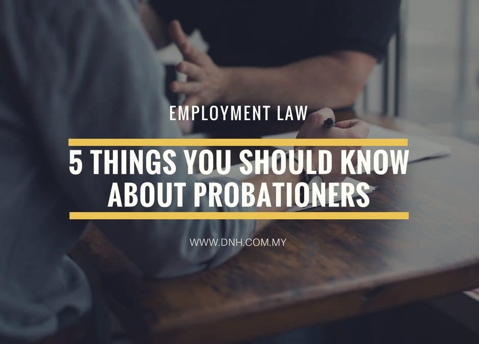5 Things You Should Know About Probationers in Malaysia