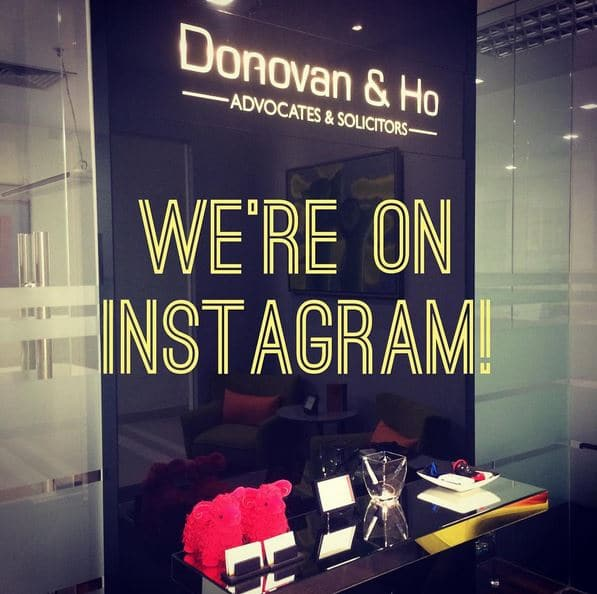 Follow us on instagram @donovanandho
