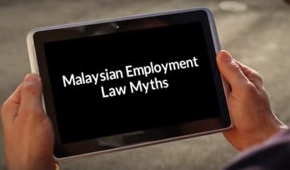 Watch our video on Malaysian employment law myths