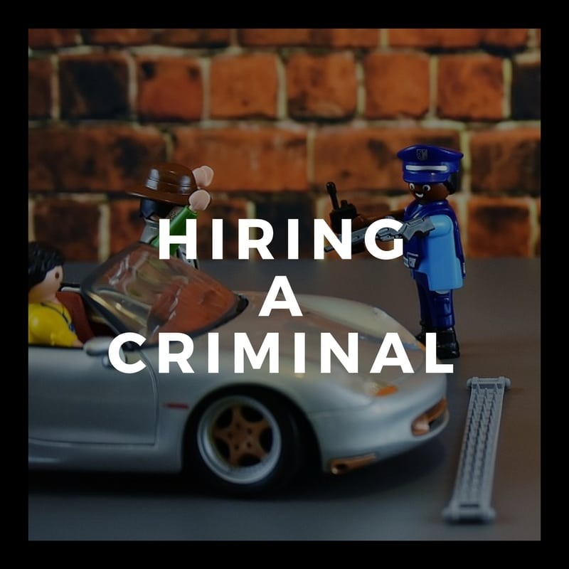 What are the consequences of having a criminal record when it comes to employment?