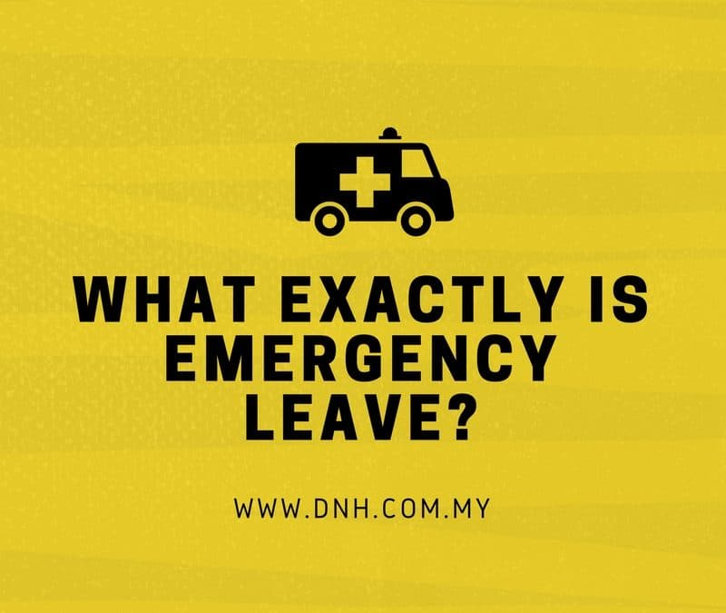 What Exactly Is Emergency Leave?