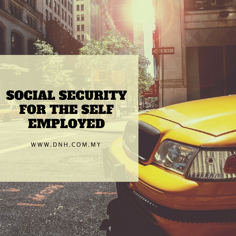 Social Security for the Self-Employed