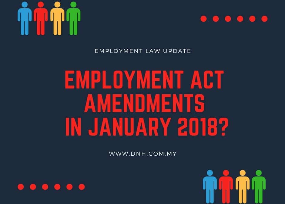 Employment Act amendments to be tabled in January 2018