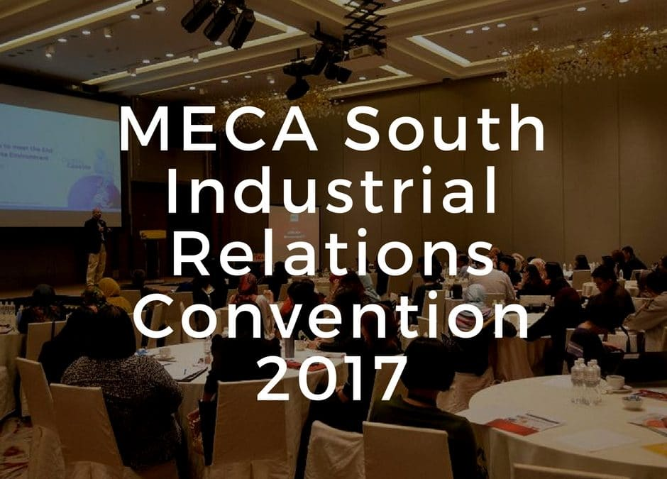 MECA South Industrial Relations Convention 2017