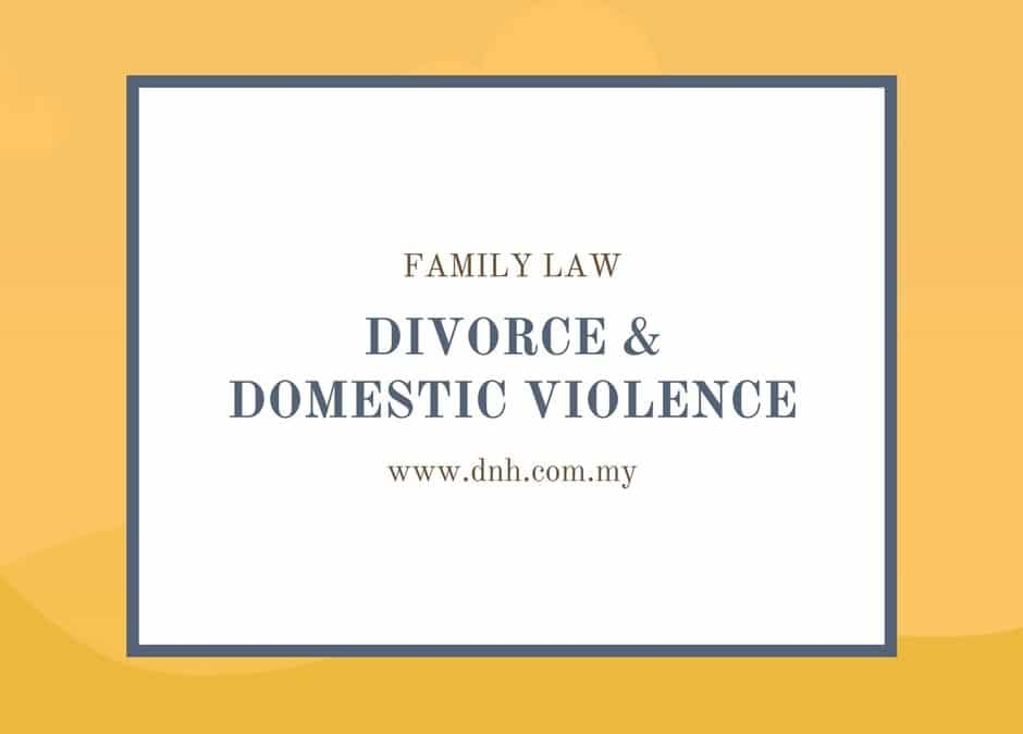 Divorce and Domestic Violence