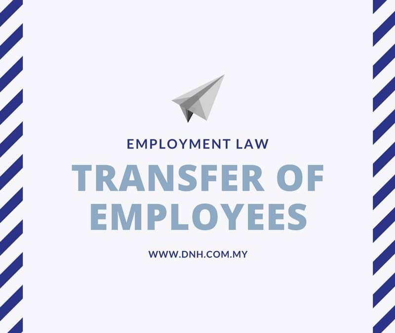 Transfer of Employees in Malaysia