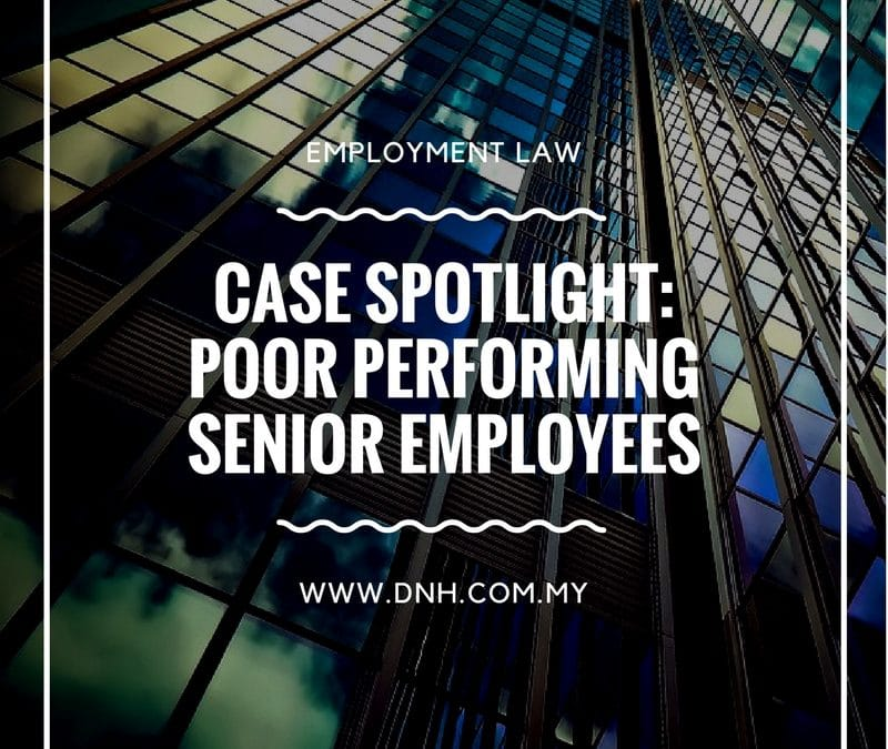 Case Spotlight: Poor Performing Senior Employees