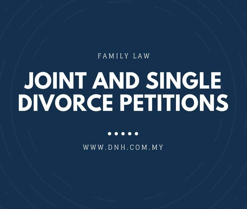 The Difference Between Joint and Single Divorce Petitions