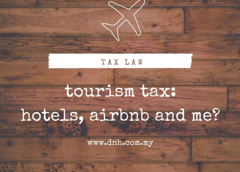 Tourism Tax: Hotels, Airbnb and Me?
