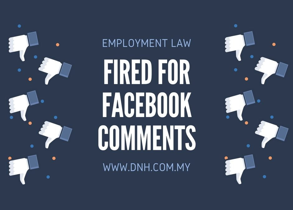 Case Spotlight: Fired for Facebook Comments