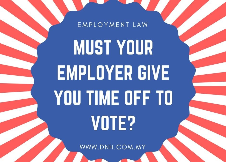 Must Your Employer Give You Time Off to Vote?