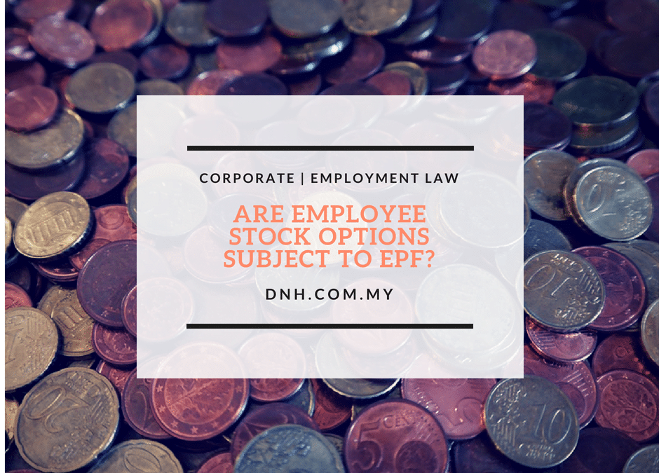 Are Employee Stock Options Subject to EPF?