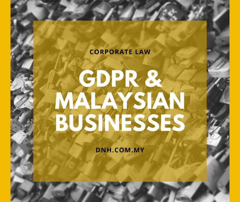 GDPR and Malaysian Businesses
