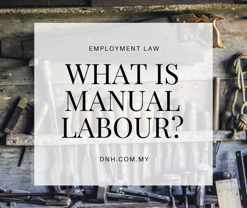 What is Manual Labour?
