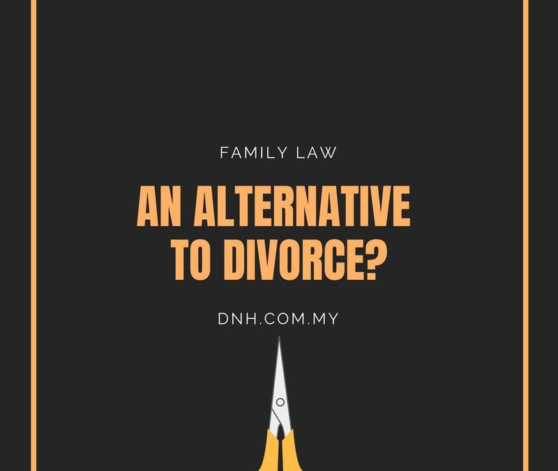 An Alternative to Divorce?
