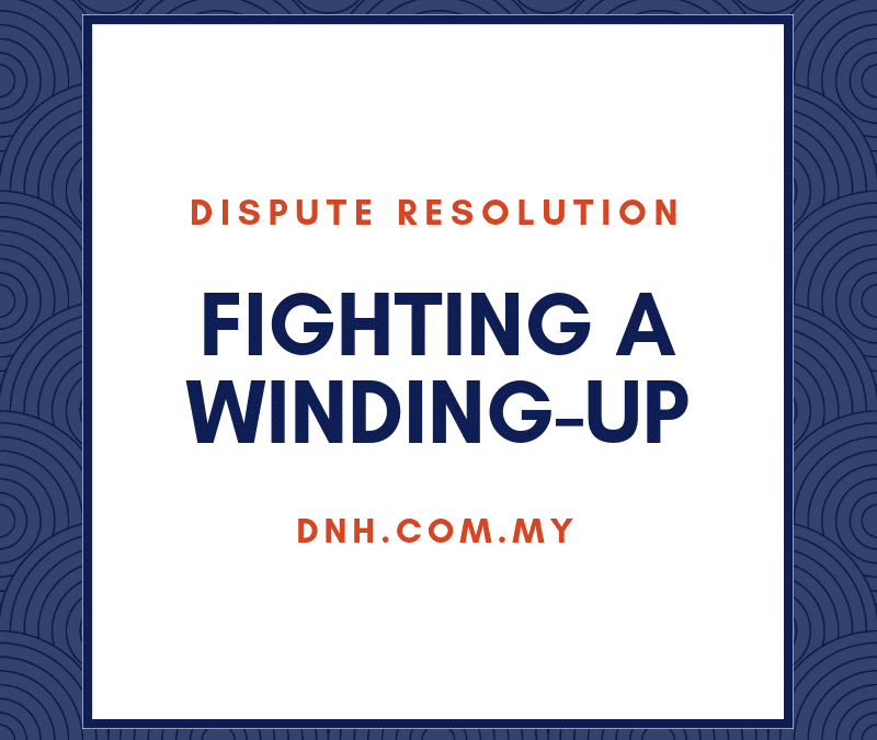 Fighting a Winding-Up