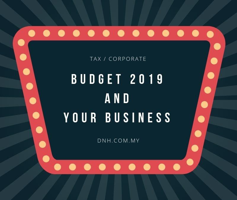 Budget 2019 and Your Business