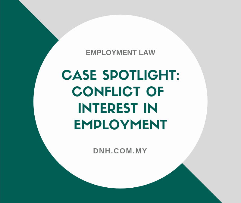 Case Spotlight: Conflict of Interest in Employment