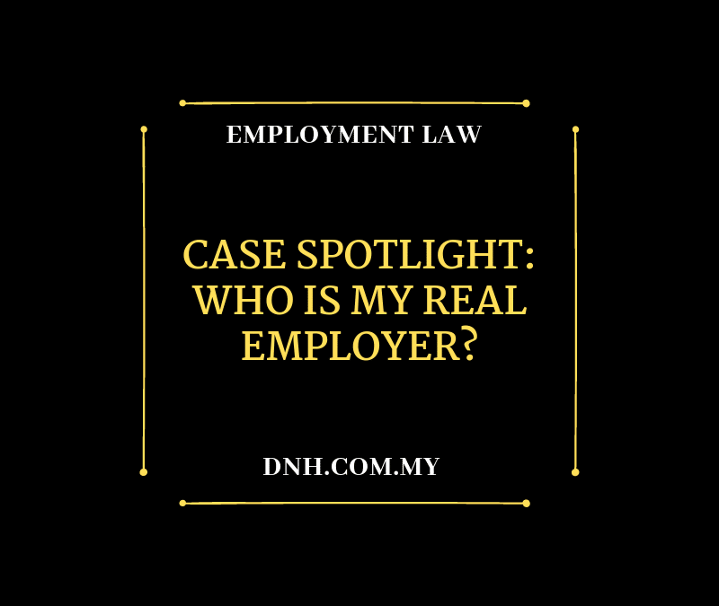 Case Spotlight: Who is my Real Employer?