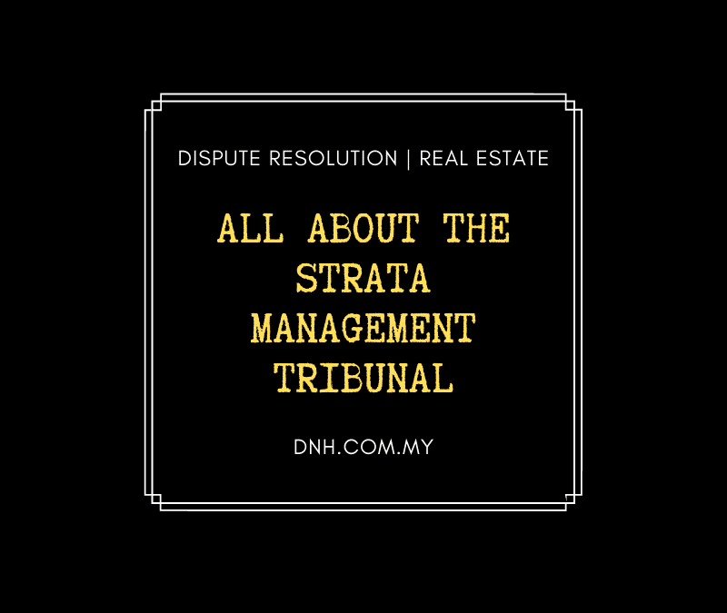 All about the Strata Management Tribunal