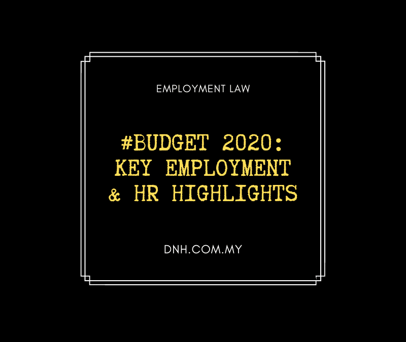 #Budget 2020: Key Employment & HR Highlights