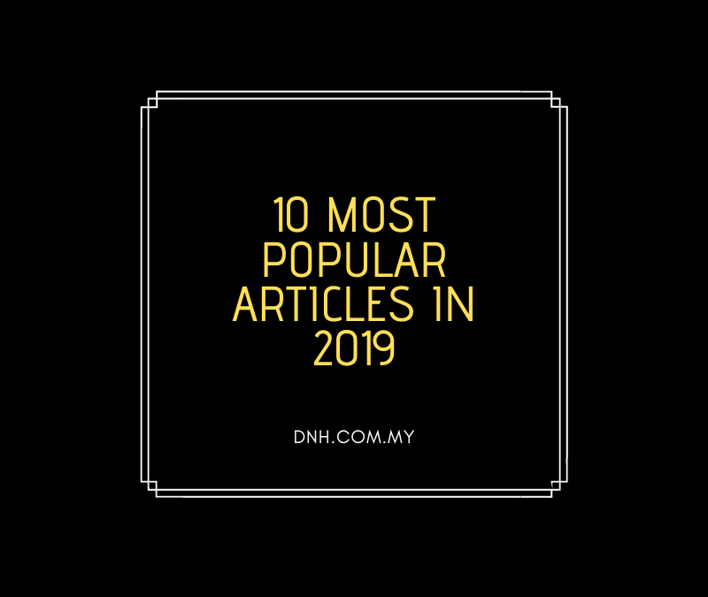 10 Most Popular Articles in 2019