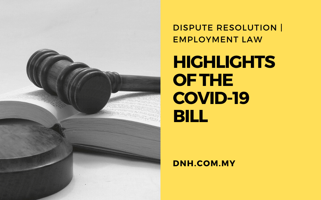 Highlights of the COVID-19 Bill