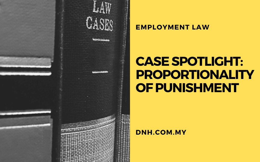 Case Spotlight: Proportionality of Punishment