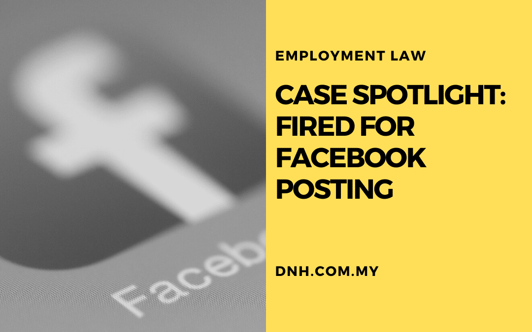 Case Spotlight: Fired for Facebook Posting