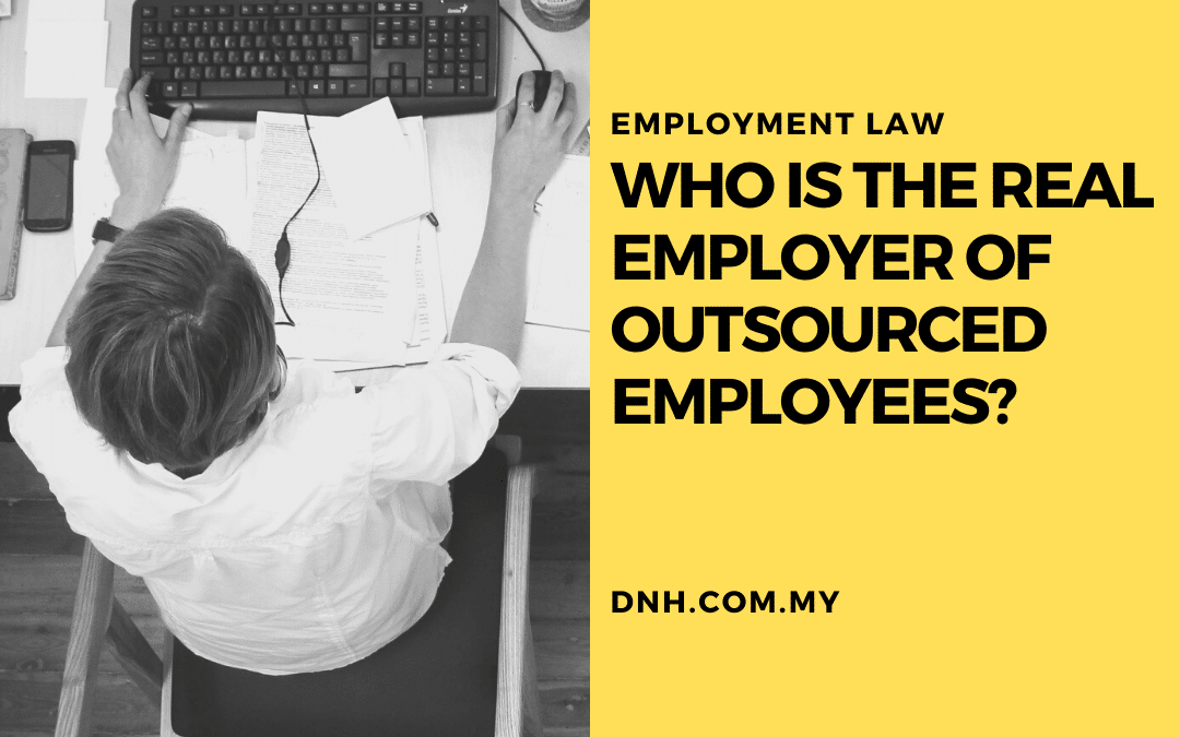 Who is the Real Employer of Outsourced Employees?